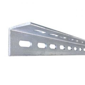 Cold Bending Steel Structure Zinc Coated Unequal Punched Angle Iron Weight Chart