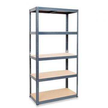 Multiple Use bolt Shelving White Display Rack Metal Steel Slotted Angle Shelf