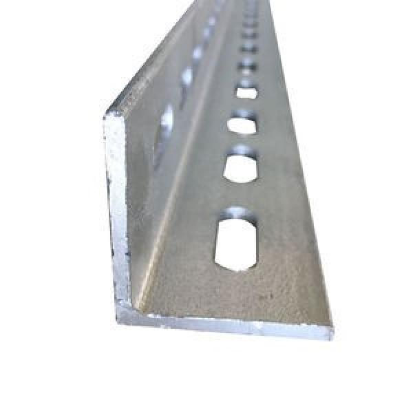 3m Low Price Punched Perforated Painted Galvanized Angle Iron stainless steel Galvanised slotted angle With holes #3 image