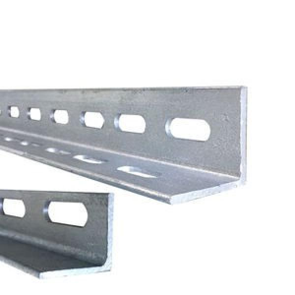 Prime quality prefabricated perforated galvanized slotted steel angle iron corner bracket with holes #2 image