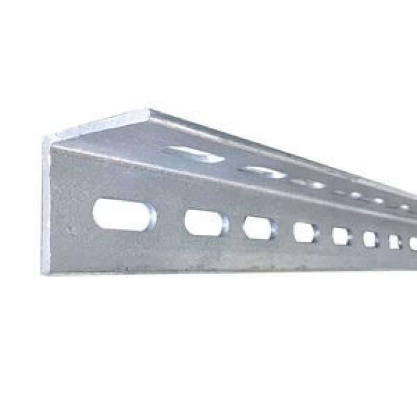Cold Bending Steel Structure Zinc Coated Unequal Punched Angle Iron Weight Chart #1 image