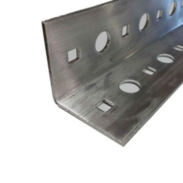 s235jr hot rolled steel angle iron with holes steel slotted angle #2 image